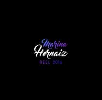 Reel 2016. Un proyecto de Motion Graphics, 3D y Animación de Marina  - 24-04-2016