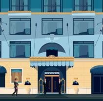 The Ritz -Carlton. Un proyecto de Ilustración, Animación y Dirección de arte de vero escalante - 23-07-2017