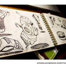 Sketching Diseño Industrial . Um projeto de Design, Design de acessórios, Design de automóveis, Consultoria criativa, Artes plásticas, Design de móveis, Design gráfico, Design industrial, Pintura, Design de produtos, Design de brinquedos, Escrita, História em quadrinhos e Arte urbana de Antonio Fernández Olombrada         - 26.04.2016