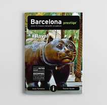 Tourist Guide Barcelona Prestige #106-#110. A Design, Advertising, Photograph, Editorial Design, and Graphic Design project by disparoestudio - Apr 26 2016 12:00 AM