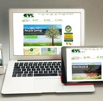 Sitio Web EYL. A Web Development project by As Diseño Diseño Web Monterrey         - 01.05.2016