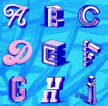 36 Days of type - 3rd Edition. Un proyecto de Diseño, Dirección de arte, Diseño gráfico, Tipografía, Escritura y Caligrafía de Eduardo  Dosuá - 09-05-2016