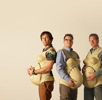 3 Pregnant Dads. Um projeto de Marketing e Mídias Sociais de Mike Smith         - 28.02.2015