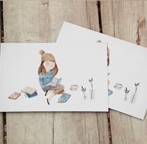 Postales Solidarias. Un proyecto de Ilustración, Diseño editorial y Diseño gráfico de eva carot - 31-12-2015