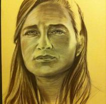 RETRATO. A Painting project by Nacho Garcia Benavente         - 15.05.2016