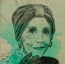 Karen Blinxen. A Illustration, and Graphic Design project by Aniuskä Pérez         - 16.05.2016