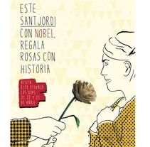 Rosas de origami para campaña de Sant Jordi de Nobel . Un proyecto de Paper craft de Estela Moreno - 22-04-2015