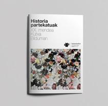 """Aplicaciones gráficas para la exposición """"Historias Compartidas"""" en Artegunea.. Un proyecto de Diseño y Diseño gráfico de TGA +  - 16-05-2016"""