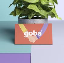 Goba. Un proyecto de Diseño, Ilustración, Br, ing e Identidad y Diseño gráfico de Menta Picante  - 22-05-2016