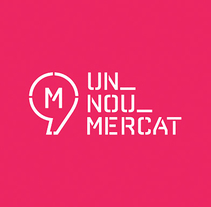 Un Nou Mercat. A Installations, Br, ing, Identit, and Graphic Design project by Xavi Teruel - 05-06-2016