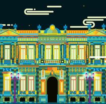 México, museo nacional de la máscara. Un proyecto de Diseño, Ilustración, Arquitectura, Dirección de arte y Diseño gráfico de Erik Gonzalez         - 26.05.2016