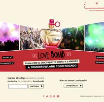 Web Promocional. A Web Design project by Jose Antonio Rios         - 29.05.2016