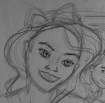 SELFIE: un ejercicio de perspectiva. Un proyecto de Ilustración y Diseño de personajes de Raquel Gil Barros         - 30.05.2016
