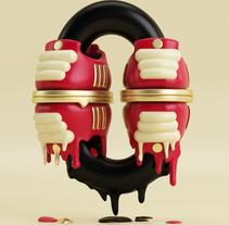 Mi Proyecto del curso: Lettering 3D: modelado y texturizado con Cinema 4D. Um projeto de Design, Ilustração e 3D de David López         - 02.08.2016