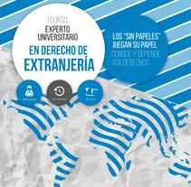 Cartelería cursos de formación Audiolís. Un proyecto de Diseño gráfico de Ramón Román         - 07.04.2016