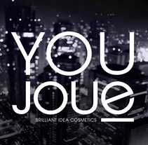 Youjoue. Nombre para una gama de cosméticos. Un proyecto de Br e ing e Identidad de ignasi fontvila - 10-06-2016