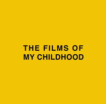 The films of my childhood.. A Design, Motion Graphics, and Animation project by Ana Aranda Rico         - 19.06.2016