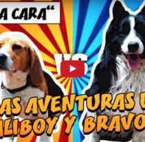 """Las Aventuras de Scaliboy y Bravocan"". A Animation, Post-Production, and VFX project by Pep T. Cerdá Ferrández - Jun 22 2016 12:00 AM"