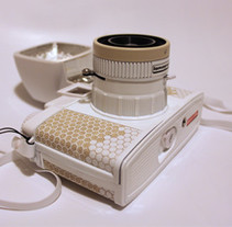 Diana F+ Honeycomb . Un proyecto de Diseño de producto de Ana Lourenco - 25-06-2016