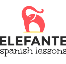 Diseño de Identidad Corporativa para ELEFante Spanish Lessons. A Br, ing, Identit, and Graphic Design project by Alexandra  Gaytán         - 27.01.2016