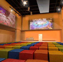 DULUX - AWARDS CEREMONY 2014 (infografia del espacio para un evento). Un proyecto de Eventos, Diseño de interiores e Infografía de Milo Massacci         - 19.03.2014