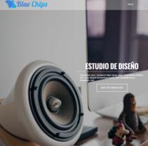 Blue Chips - Desarrollo Web con HTML5 y CSS3. Un proyecto de Diseño y Desarrollo Web de Daniel Pulgarín - 21-11-2016