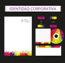 Identidad Corporativa. A Design, Br, ing, Identit, and Graphic Design project by Inmaculada  Gutiérrez Mier - 10-07-2016