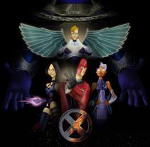X-MEN APOCALYPSE. Um projeto de Design, Ilustração, Animação, Design de personagens, Artes plásticas, Design gráfico, História em quadrinhos e Cinema de Jose Manuel  Nieto Sánchez - 21-06-2016