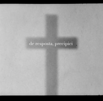 De resposta precipici. A Film, Video, TV, and Film project by Maria Grau Piqué - 18-06-2016