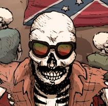 El hombre de Alabama. Um projeto de Design, Ilustração, Design de personagens, Design editorial e História em quadrinhos de Daniel Martin         - 14.07.2016