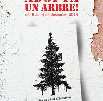 Campanya adopta un arbre. Um projeto de Marketing de Maria Hill         - 15.07.2016