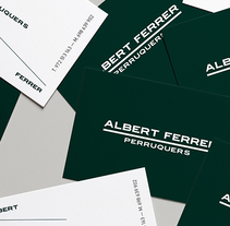 Albert Ferrer. A Br, ing, Identit, and Graphic Design project by Héctor Martín - Jul 01 2012 12:00 AM