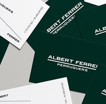 Albert Ferrer. Un proyecto de Br, ing e Identidad y Diseño gráfico de Héctor Martín - 30-06-2012