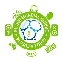 Al mundial con Kia. A Art Direction, and Social Media project by kanitres         - 19.05.2014