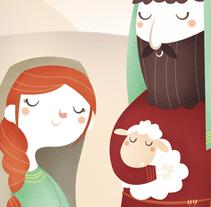 Hacia Belén.... Un proyecto de Ilustración de Laura García Mañas - 19-07-2016