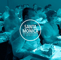 Santa Mónica Formación. A Br, ing, Identit, Graphic Design, and Web Design project by Marco Garcia - Aug 01 2016 12:00 AM