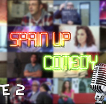 Spain Up Comedy | Parte 2. Um projeto de Cinema, Vídeo e TV, Vídeo e   TV de Pedro Herrero Sarabia - 05-08-2016