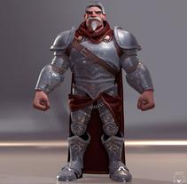 Medieval knight. Um projeto de 3D e Design de personagens de gesiOH         - 16.08.2016