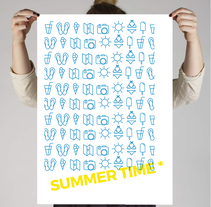 SUMMER POSTER. A Graphic Design project by Anna Garcia Montolio         - 21.08.2016