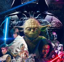 Star Wars . Um projeto de Design, Publicidade e Direção de arte de Vikö Sviäs         - 15.04.2014
