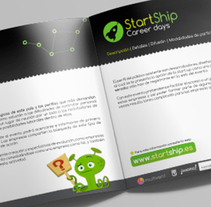StartShip. A Design, Br, ing, Identit, Editorial Design, Graphic Design, and Naming project by Nuria Muñoz         - 28.08.2016