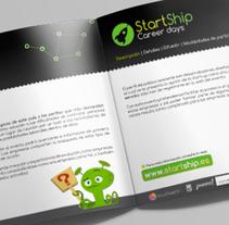 StartShip. Un proyecto de Diseño, Br, ing e Identidad, Diseño editorial, Diseño gráfico y Naming de Nuria Muñoz - 28-08-2016