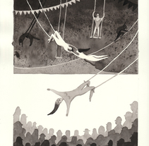 El circo. Um projeto de Ilustração de Sandra Rilova         - 29.08.2016