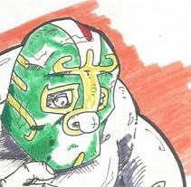 Ilustración - inspiraciones de México. A Illustration, and Character Design project by Matias Hernan Plonski - VFX         - 04.09.2016