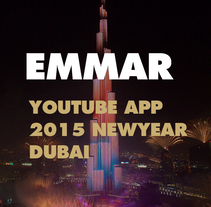 Emmar - Youtube App - Dubai New Year's Eve Gala. A Art Direction&Interactive Design project by Narciso Arellano         - 05.09.2016