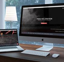 Pablo Raijenstein. Un proyecto de Diseño Web de Emilio Gutierrez Rodriguez - Martes, 01 de marzo de 2016 00:00:00 +0100