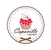 Capacillo Cupcakes. A Br, ing, Identit, and Graphic Design project by Anna Bisceglia - 05-09-2016