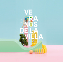 Veranos de la Villa 2016. A Design, Art Direction, Br, ing&Identit project by Rebeka  Arce - 06-09-2016