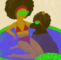 Perros y perretes. Un proyecto de Ilustración de Marina Hdez Ávila - 07-09-2016