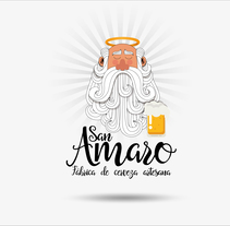 Cerveza Artesana San Amaro. A Br, ing, Identit, Graphic Design, and Packaging project by Javier Alés - 17-09-2016
